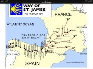 Le chemin de St. Jacques