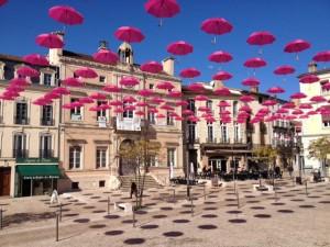 Les parapluies de Mont de Marsan